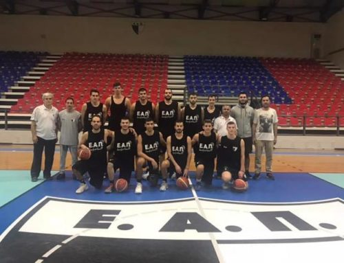 """""""5 στα 5"""" για την ομάδα της ΕΑΠ στο πρωτάθλημα της Α1 ΕΣΚΑ-Η"""